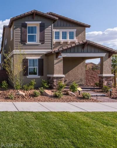 Henderson Single Family Home For Sale: 3153 Umbria Hills Walk