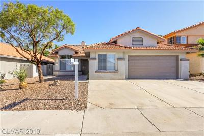 Las Vegas Single Family Home For Sale: 8425 Justine Court