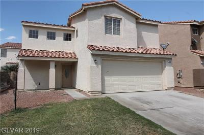 Las Vegas Single Family Home For Sale: 7233 Scenic Desert Court