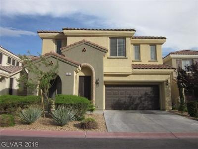 Las Vegas Single Family Home For Sale: 11925 Luna Del Mar Lane
