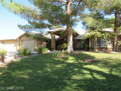 Las Vegas Single Family Home For Sale: 8640 West Tropical