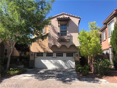 Summerlin Village Single Family Home Under Contract - No Show: 2345 Aragon Canyon Street