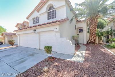 Las Vegas, Henderson Single Family Home For Sale: 1640 Mexican Poppy Street