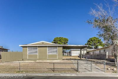 North Las Vegas Single Family Home Under Contract - Show: 2105 Englestad Street