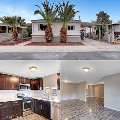 Las Vegas Manufactured Home For Sale: 3312 Cape Cod Drive
