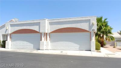 Las Vegas NV Condo/Townhouse For Sale: $180,000
