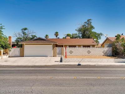 Las Vegas Single Family Home For Sale: 4500 Wyoming Avenue