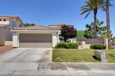 Las Vegas Single Family Home Under Contract - Show: 7300 Hoss Place