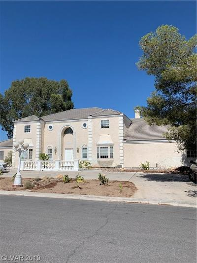 Las Vegas NV Single Family Home For Sale: $475,000