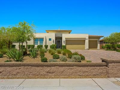 Las Vegas Single Family Home For Sale: 4807 North Tee Pee Lane