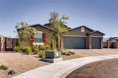 Las Vegas Single Family Home For Sale: 7385 Quaking Aspen Street