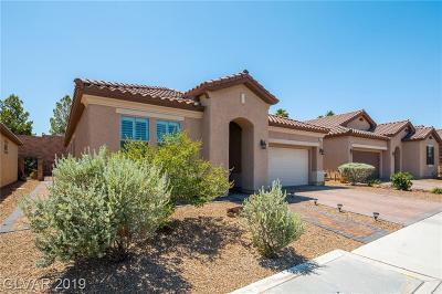 Henderson Single Family Home For Sale: 617 Viale Machiavelli Lane