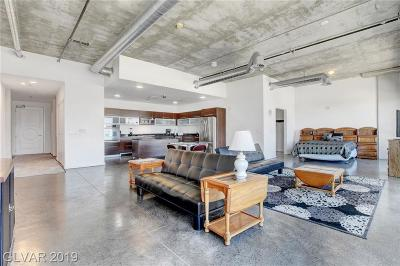Soho Loft, Soho Lofts High Rise For Sale: 900 Las Vegas Boulevard #1016
