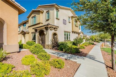 Macdonald Foothills Pa-18a Pha, Laguna Bay Townhome Est, Summerlin Village 19 Phase 2-L, Affinity, Summerlin Village 18 Parcel L, V At Lake Las Vegas Condo/Townhouse For Sale: 11326 Belmont Lake Drive #101