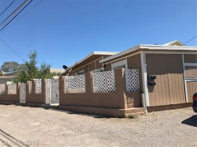 Henderson Multi Family Home Under Contract - No Show: 222 Zinc Street