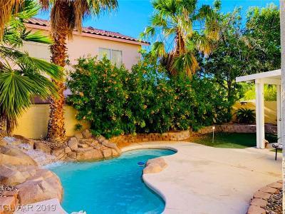 North Las Vegas Single Family Home For Sale: 5028 Jacarilla Lane