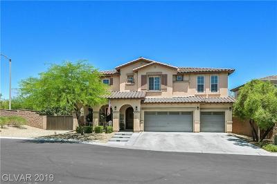 Las Vegas NV Single Family Home For Sale: $494,000