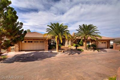 Boulder City Single Family Home For Sale: 1316 Alpine Drive