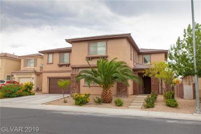 North Las Vegas Single Family Home For Sale: 2112 Cactus Desert Court