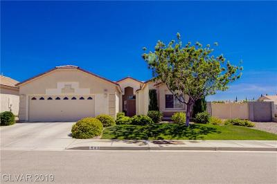 Boulder City Single Family Home Under Contract - No Show: 549 Bender Court