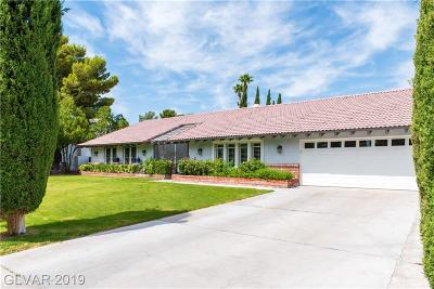 Las Vegas Single Family Home For Sale: 520 Campbell Drive