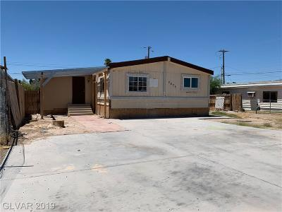 Las Vegas Single Family Home For Sale: 2275 Glenwood Lane