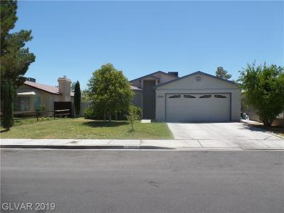 Sunrise Manor Single Family Home For Sale: 3849 Light Year Drive