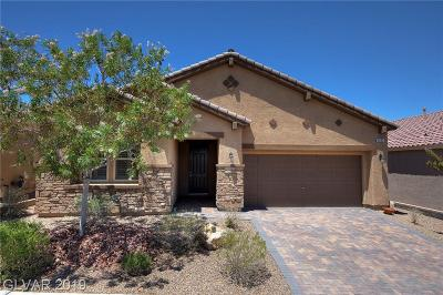 Henderson Single Family Home For Sale: 1033 Via Gandalfi