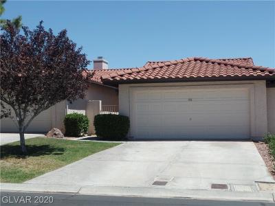Boulder City Condo/Townhouse For Sale: 436 Ranger Court