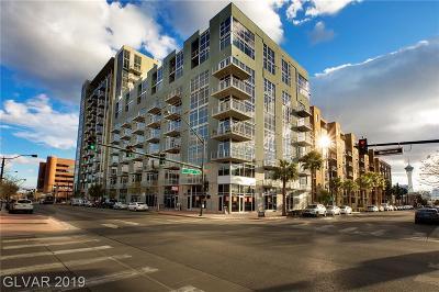 Las Vegas High Rise For Sale: 353 Bonneville Avenue #577