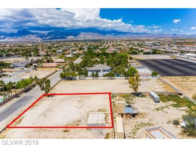 Las Vegas Residential Lots & Land For Sale: 0 Donald Nelson