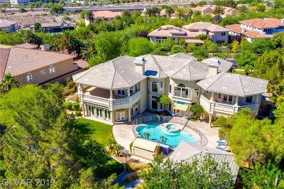 Boulder City, Henderson, Las Vegas, North Las Vegas Single Family Home For Sale: 9000 Players Club Drive