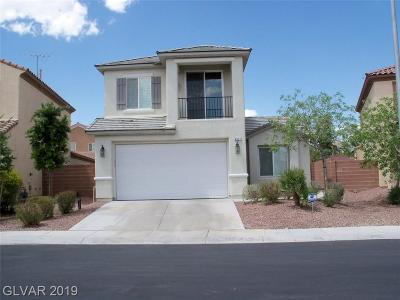 North Las Vegas Single Family Home Under Contract - No Show: 6517 Birdhouse Street