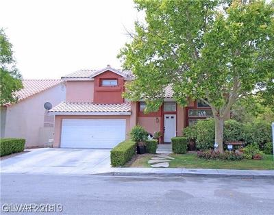 North Las Vegas Single Family Home For Sale: 1733 Black Hills Way