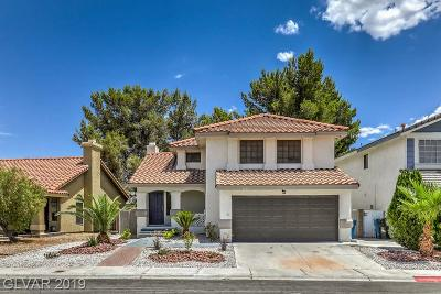 Las Vegas Single Family Home For Sale: 3048 Waterview Drive