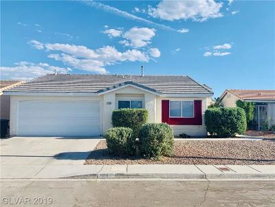 North Las Vegas Single Family Home For Sale: 2109 Fountain Valley Way