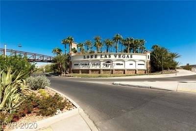 Boulder City, Henderson, Las Vegas, North Las Vegas Single Family Home For Sale: 1 Costa Del Sol Court