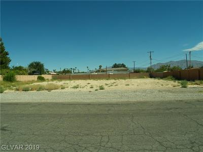 Las Vegas Residential Lots & Land For Sale: Unassigned Situs