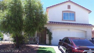 North Las Vegas Single Family Home For Sale: 3103 Anchorman Way