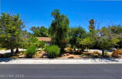 Clark County Single Family Home For Sale: 1737 Santa Anita Drive