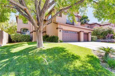 Las Vegas, Henderson Single Family Home For Sale: 8409 Willow Point Court