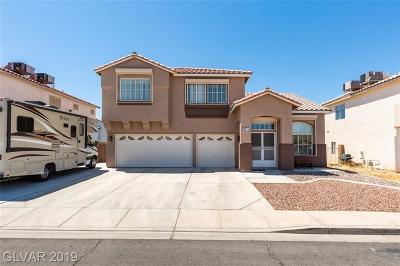 Sunrise Manor Single Family Home For Sale: 6575 Tulip Garden Drive