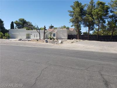 Las Vegas Single Family Home For Sale: 5008 Donnie Avenue