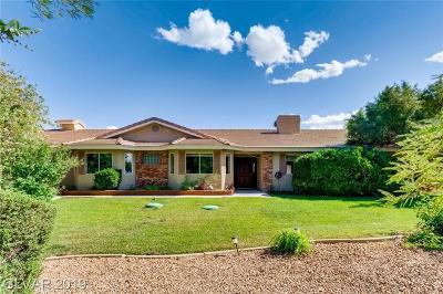 Las Vegas Single Family Home For Sale: 5745 Meranto Avenue