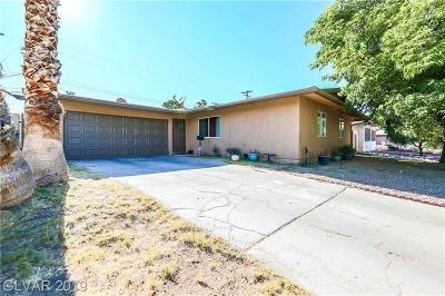 Las Vegas Single Family Home For Sale: 301 Orchid Drive