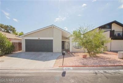 Las Vegas Single Family Home For Sale: 4784 Monaco Road