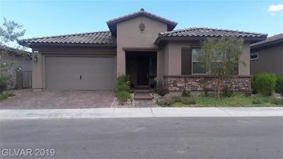 Henderson Single Family Home For Sale: 420 Turtle Mesa Avenue