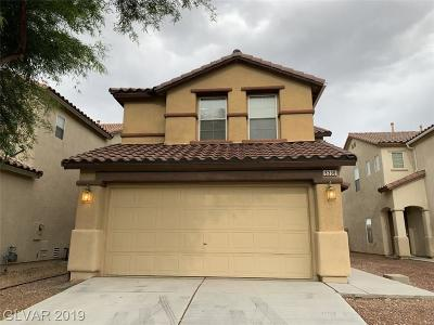 North Las Vegas Single Family Home For Sale: 8336 Brilliant Ruby Court