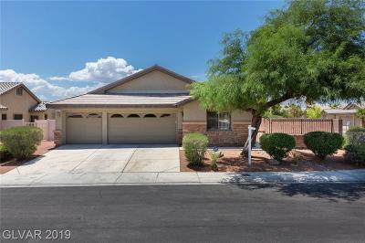 North Las Vegas Single Family Home For Sale: 3205 Copper Sunset Avenue