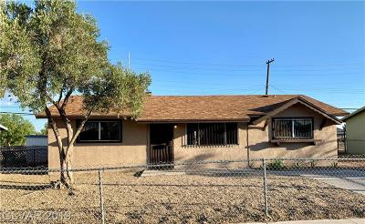 North Las Vegas Single Family Home For Sale: 1815 McDonald Avenue